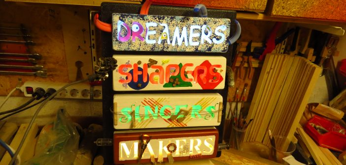 Dreamers, Shapers, Singers, Makers.