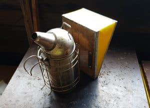 beekeeping gear - smoker
