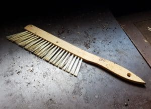 beekeeping gear - bee brush